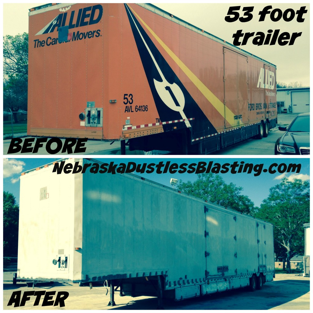 53 Foot Trailer Collage