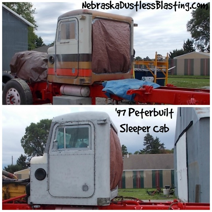 Grant Built Peterbuilt Sleeper Cab